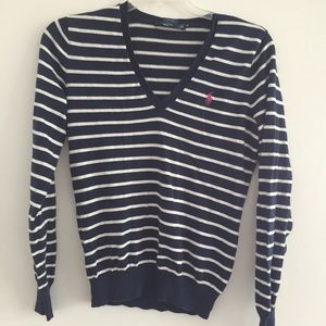 Ralph Lauren Striped Sweater (M)